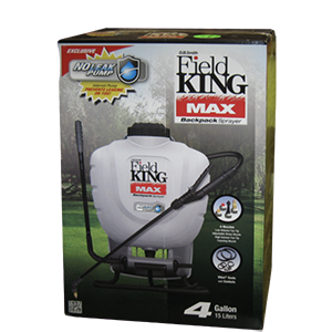 Field King Max 4 Gallon Backpack Sprayer Product Image